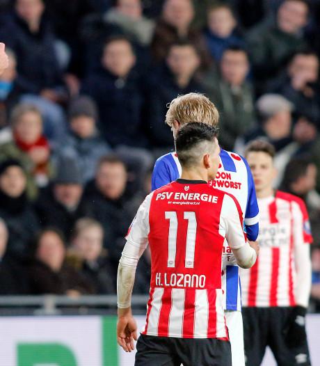 Lozano drie duels geschorst en mist topper tegen Feyenoord