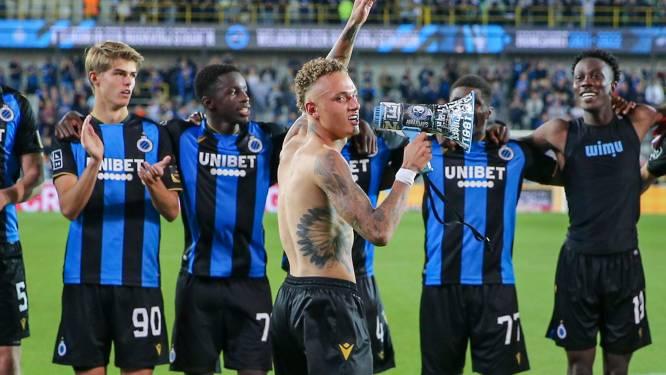 Le Club de Bruges fait le plein de confiance avant d'affronter le PSG