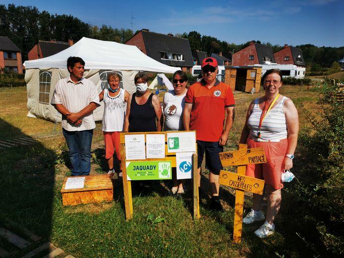 Le jardin partagé Les Casseroles à Gosselies (Charleroi) va bientôt être inauguré