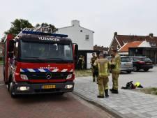Brand uitgebroken bij Vlissingse carport