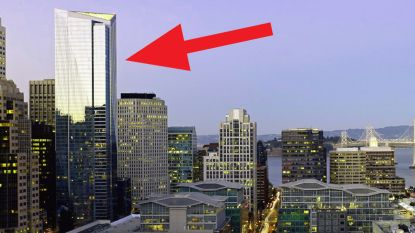 Deze wolkenkrabber zakt scheef na constructiefout: luxeflats zijn bijna niks meer waard