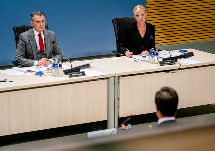 Attje Kuiken ondervraagt minister-president Mark Rutte als lid van de parlementaire enquetecommissie Kinderopvangtoeslag.