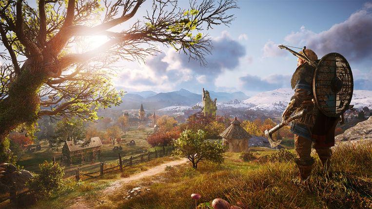 Beeld uit de game Assassins creed Valhalla. Beeld Ubisoft