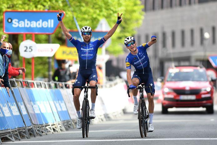 Il y avait deux Deceuninck-Quick Step dans l'échappée (de six coureurs) du jour, ils ont terminé l'étape à deux, Josef Cerny laissant la victoire à Mikkel Honoré.