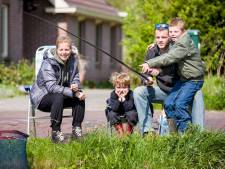 Legaal vissen kan voortaan aan de zij-Mark en drie vijvers in Halderberge