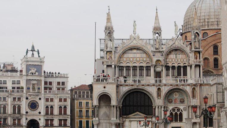 Het San Marco-plein in Venetië. Beeld ANP