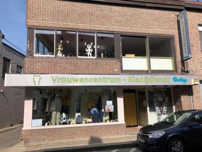 Het Vrouwencentrum bevindt zich in de Duivenstraat
