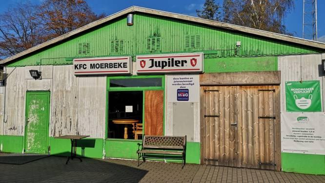 KFC Moerbeke neemt dit weekend afscheid van oude kantine