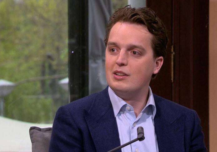Sywert van Lienden in een uitzending van WNL op Zondag.
