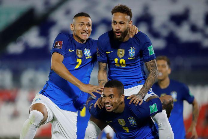 Six matchs six victoires: Neymar et le Brésil filent vers une qualification tranquille pour le Mondial.