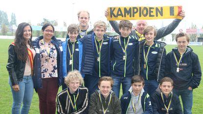 Kus van Eikoningin voor U15-kampioenenteam