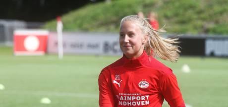 PSV-hart weerhoudt Dana Foederer niet van stap: 'De kans dat ik bij Heerenveen ga spelen is vele malen groter'