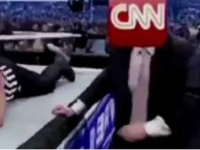 Trump s'en prend à CNN dans une vidéo surréaliste