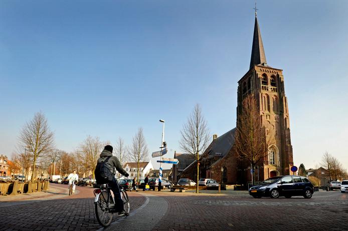 De kerk van Moergestel.