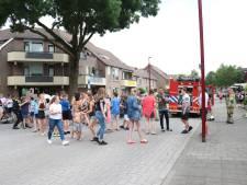 Enzo Knol trekt veel bekijks bij brand in Nieuwegein