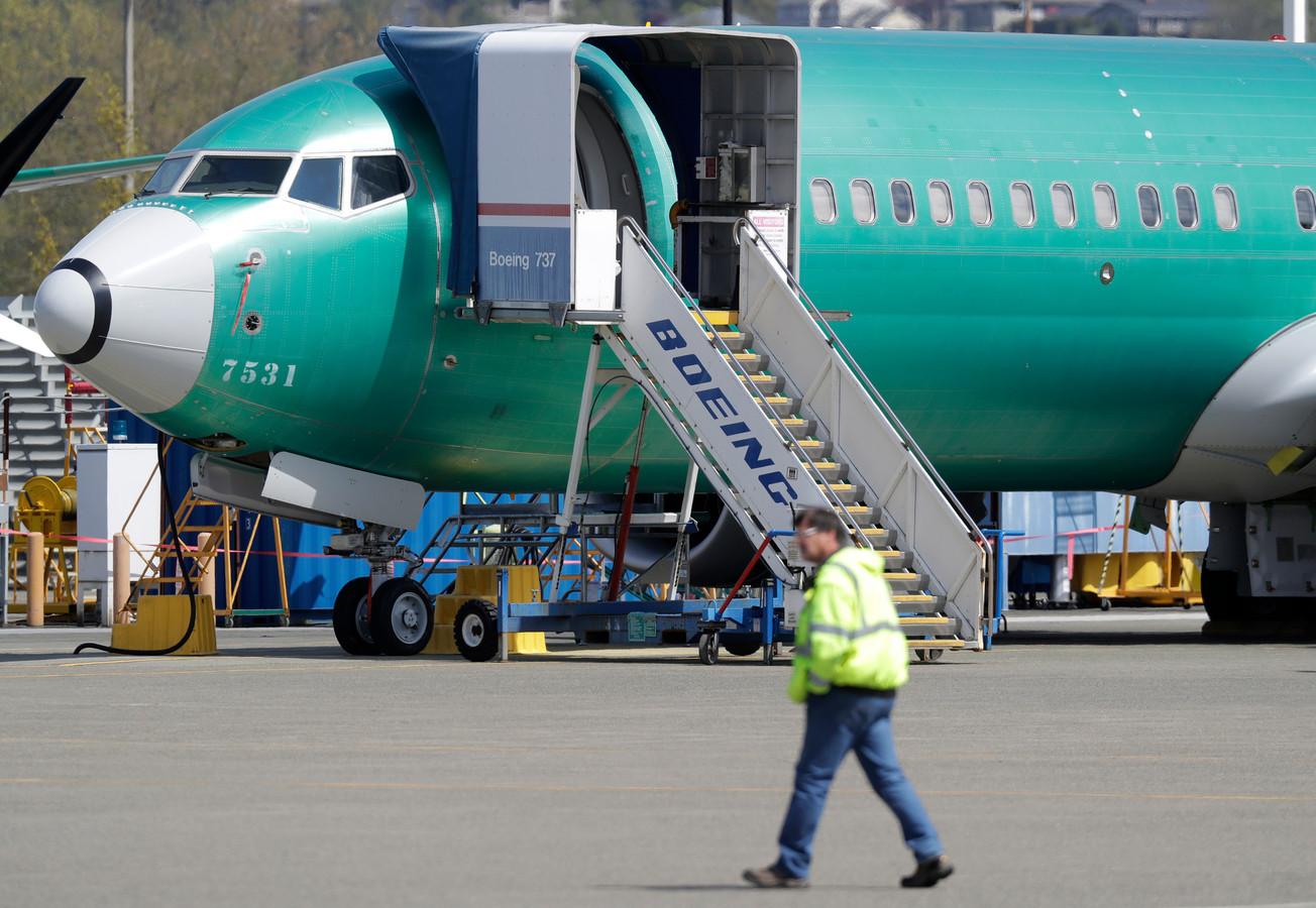 Een Boeing 737. Foto ter illustratie.