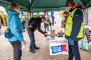 Wandelvereniging OLAT uit Sint-Oedenrode hield zondag een testwandeling in coronatijd.