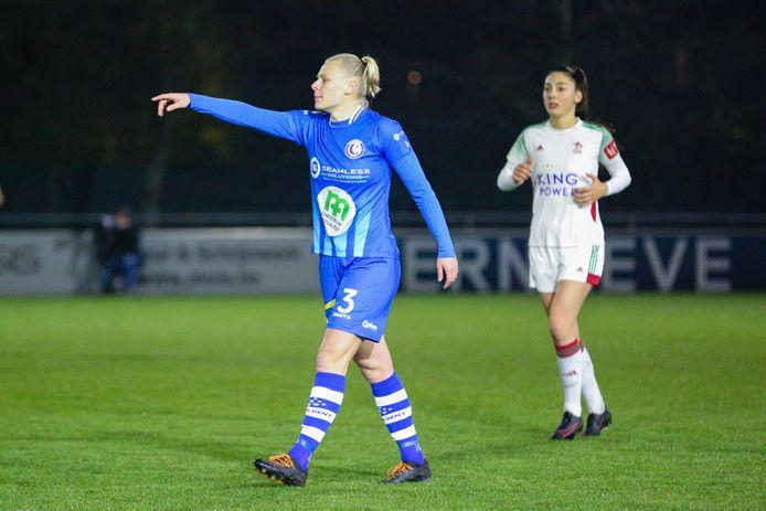 Een volledig fitte Ella Van Kerkhoven moet AA Gent Ladies, haar nieuwe ploeg, aan een ticket voor play-off 1 helpen.