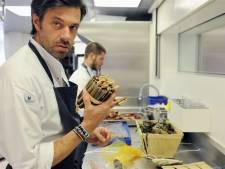 Topkok Sergio Herman bakt dinsdag patat in Arnhem
