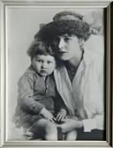 Ed Janssens en zijn moeder, de Rotterdamse Marie Cardinaal