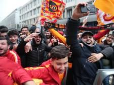Hobbemastraat op stelten gezet na winst Galatasaray