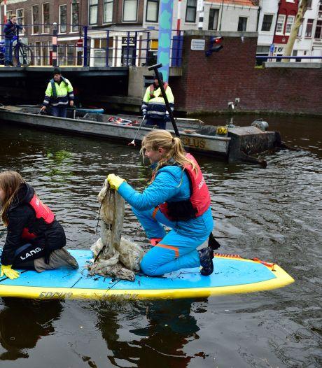 Zo moeten Gouwe, Rijn en Hollandsche IJssel het eerste plasticvrije rivierengebied van Nederland worden