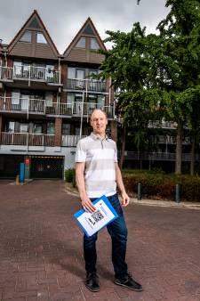 Ewout van Geuns maakte een online kaart van zijn 'onlogische appartementencomplex'