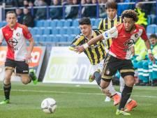 Feyenoord pas in laatste kwartier langs Vitesse