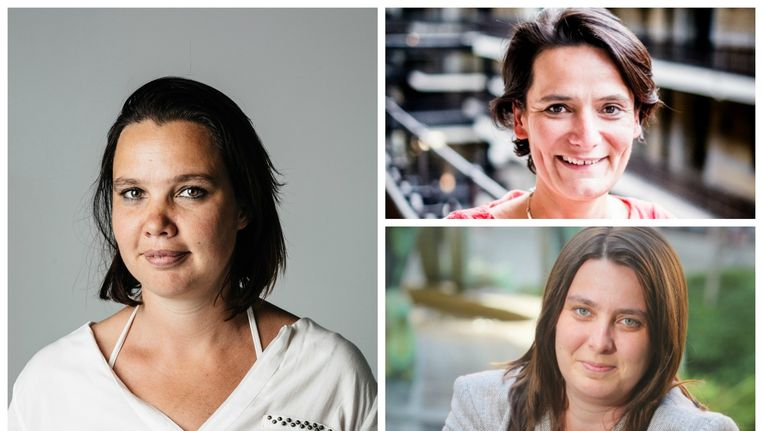 An Goovaerts, Isabel Albers en Liesbeth Van Impe: de vrouwelijke hoofdredacteurs zijn in opmars Beeld Stefaan Temmerman, Wouter Van Vooren en Pieter-Jan Vanstockstraeten