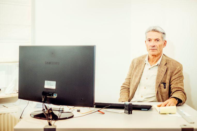 Hans Hellebuyck, forensisch psychiater. Beeld Stefaan Temmerman