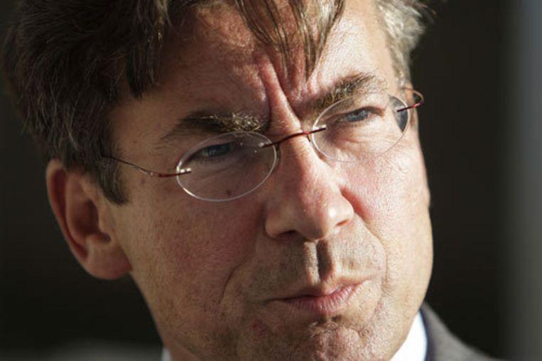Minister Maxime Verhagen van Buitenlandse Zaken heeft gisteren de Russische ambassadeur op het matje geroepen. Foto ANP/Valerie Kuypers Beeld