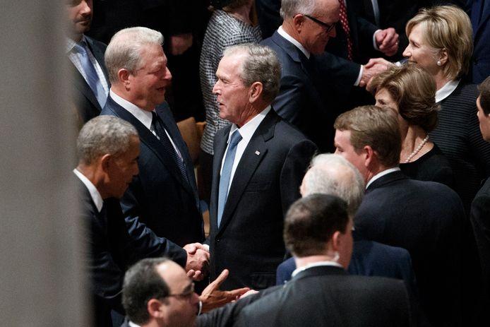George W. Bush et Al Gore