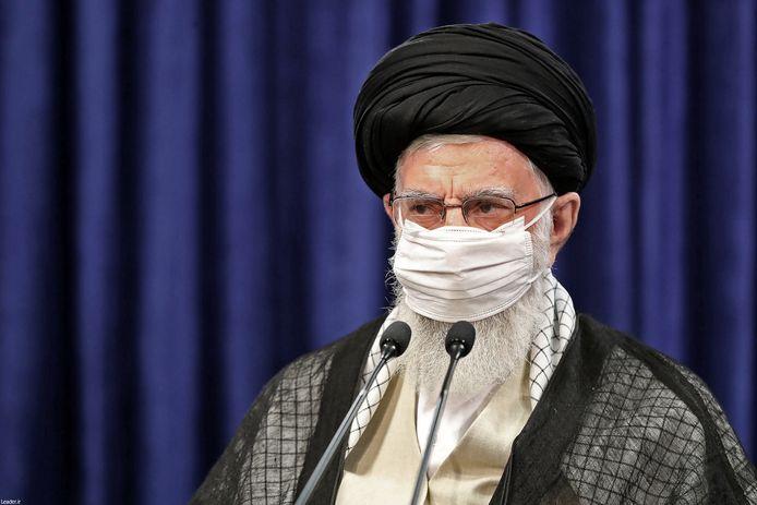 Ayatollah Ali Khamenei, voerige week in een toespraak voor het Iraanse volk, ter gelegenheid van het Offerfeest.