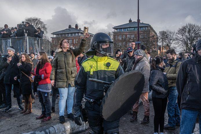 Demonstratie zondag in Amsterdam