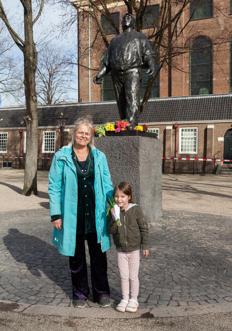 Merel Borgesius (links) en Ziva Beeld Nina Schollaardt