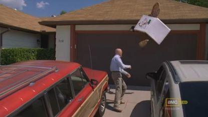 Hek om Breaking Bad-huis wegens fans die pizzagooi-scène willen naspelen