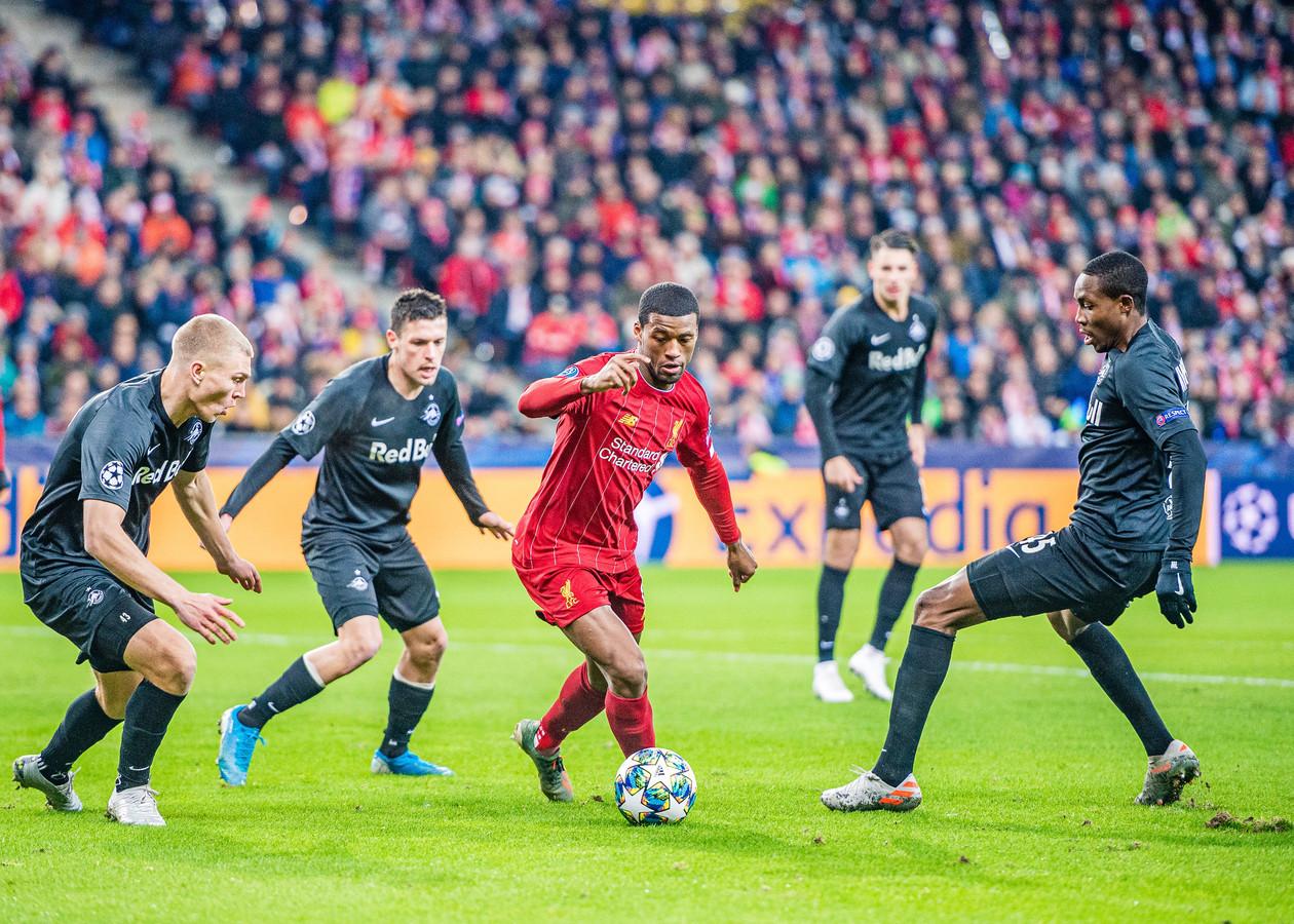 Georginio Wijnaldum speelt ook met CL-titelverdediger Liverpool na de winter in het miljoenenbal.