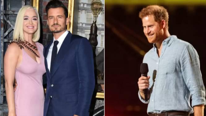 """Prins Harry goed bevriend met buren Orlando Bloom en Katy Perry: """"Ze waarschuwen me voor de paparazzi"""""""