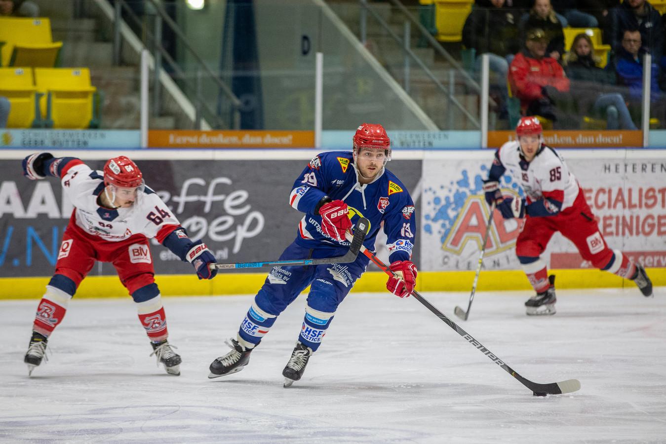 Nijmegen Devils tegen Luik Bulldogs.