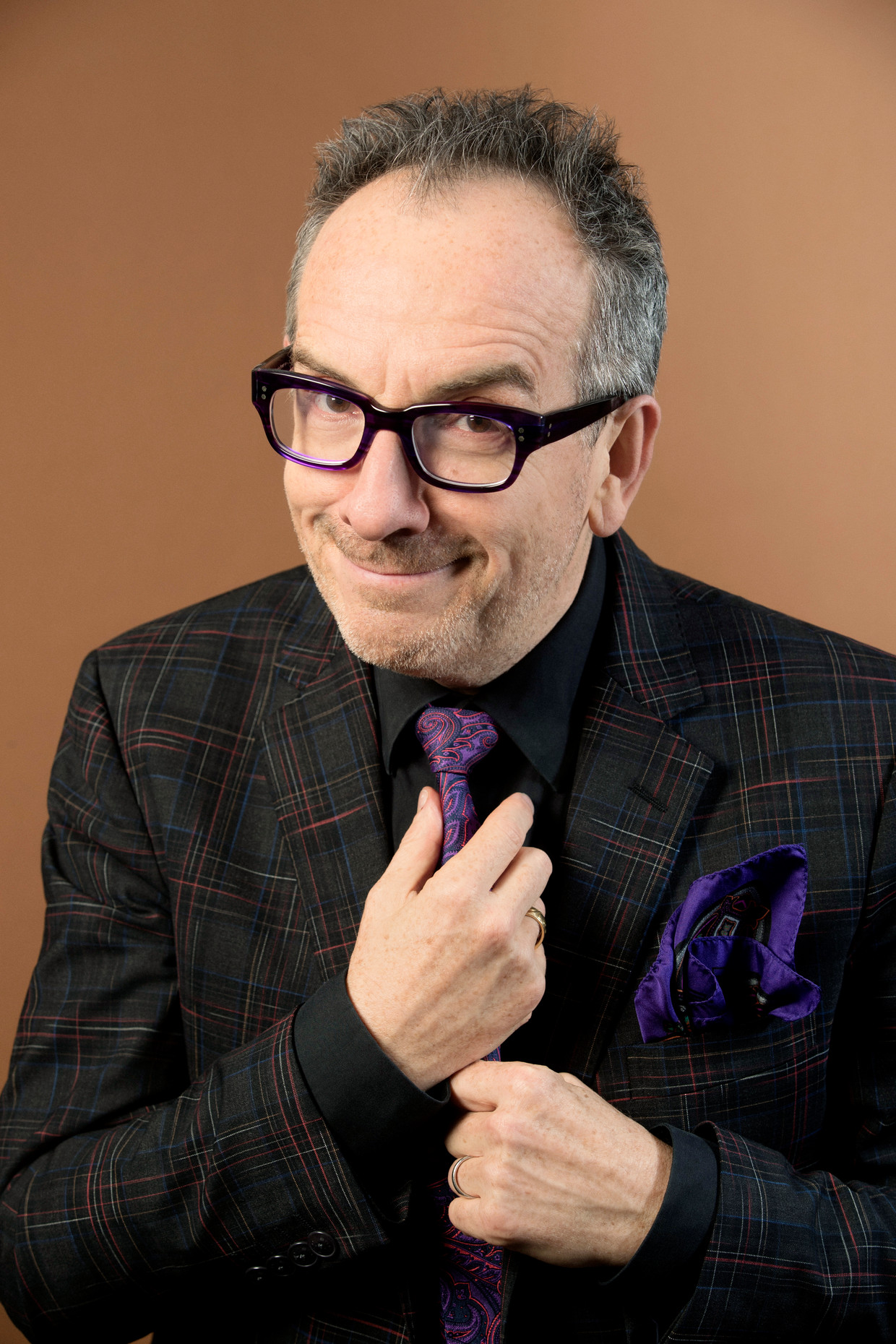 Elvis Costello Beeld Contour by Getty Images