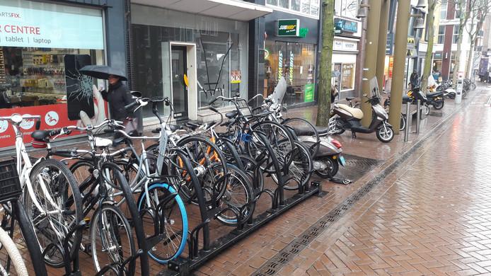 Swapfiets opent binnenkort een winkel in de Nijmeegse Augustijnenstraat.