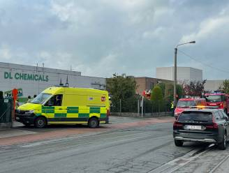 Zestigtal werknemers DL Chemicals geëvacueerd na brand in productieruimte