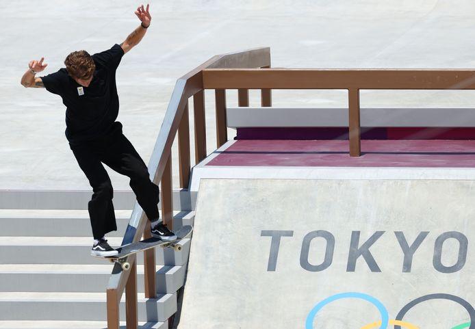 Skateboarden was dit jaar een Olympische sport.