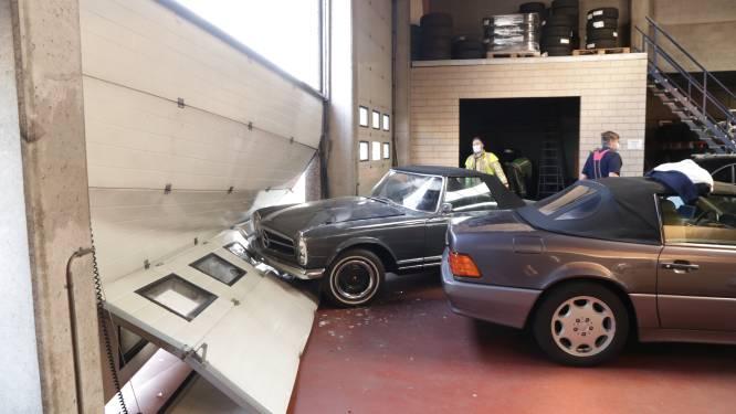 """Ramkraak op garage voor unieke oldtimer: """"Daders keerden terug met batterij om auto te kunnen starten"""""""