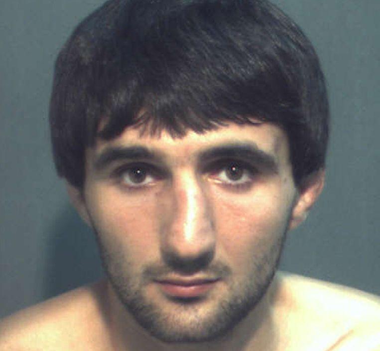 De Tsjetsjeen Ibragim Todasjev werd gisteren gedood tijdens een ondervraging van de FBI. Beeld reuters