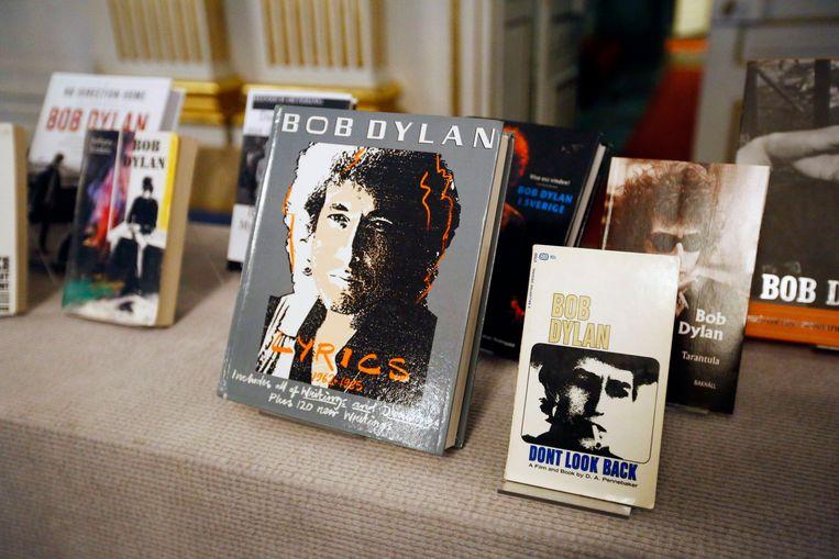 Bob Dylan lyrics.  Beeld ANP