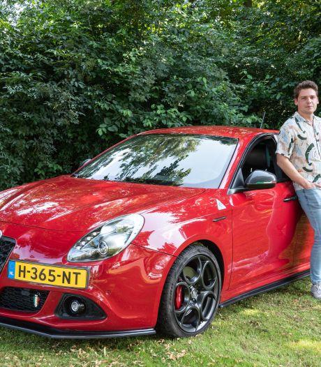 Jordy had geen nieuwe auto nodig, maar met 'Juultje' was het liefde op het eerste gezicht