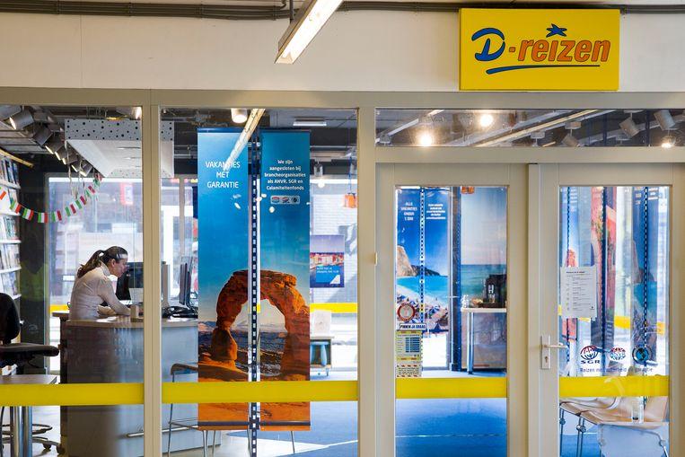 D-reizen, een van de grootste reisorganisaties van Nederland, is begin april failliet verklaard.  Beeld Arie Kievit