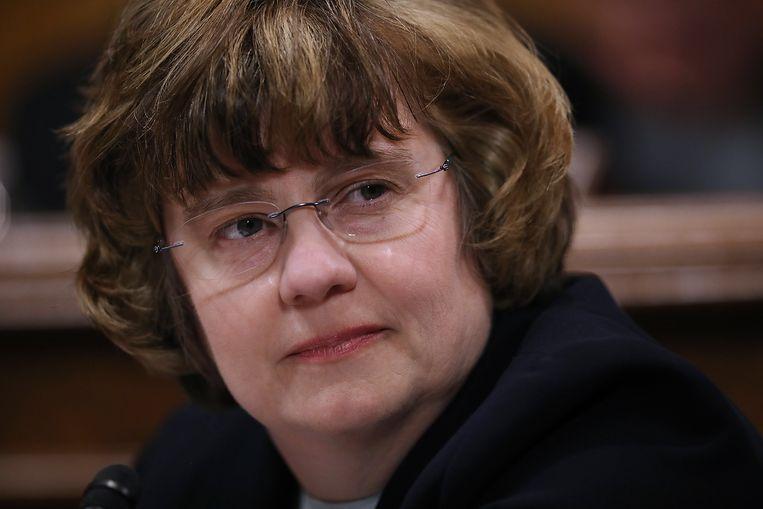 Rachel Mitchell, aanklaagster uit Arizona, is verantwoordelijk voor het horen van Ford. Beeld EPA