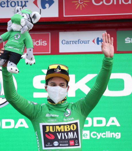 Roglic vainqueur de la 8e étape, Carapaz toujours leader